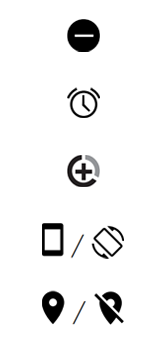 Explicação dos ícones - Motorola One - Passo 7