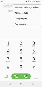 Como bloquear chamadas de um número específico - Samsung Galaxy J6 - Passo 5