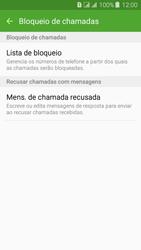 Como bloquear chamadas de um número específico - Samsung Galaxy J3 Duos - Passo 7