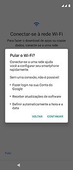 Como configurar pela primeira vez - Motorola One Vision - Passo 9