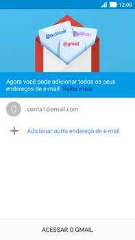 Como configurar seu celular para receber e enviar e-mails - Asus ZenFone 3 - Passo 22