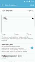 Como ativar e desativar uma rede de dados - Samsung Galaxy S7 Edge - Passo 4