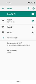 Como configurar uma rede Wi-Fi - Motorola One Vision - Passo 8