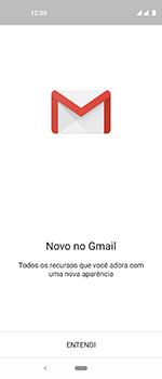 Como configurar seu celular para receber e enviar e-mails - Motorola One Vision - Passo 4