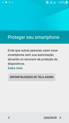 Como configurar pela primeira vez - Samsung Galaxy J5 - Passo 10