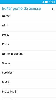 Como configurar a internet do seu aparelho (APN) - Asus ZenFone Go - Passo 9
