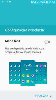 Como configurar pela primeira vez - Samsung Galaxy J7 - Passo 16