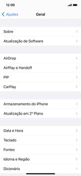 Como encontrar o número de IMEI do seu aparelho - Apple iPhone 11 Pro - Passo 3