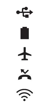 Explicação dos ícones - LG K62 - Passo 8