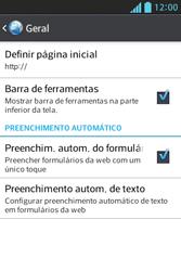 Como configurar a internet do seu aparelho (APN) - LG Optimus L5 - Passo 25