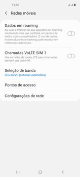 O celular não recebe chamadas - Samsung Galaxy A21s - Passo 7