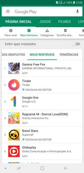 Como baixar aplicativos - Samsung Galaxy J4+ - Passo 7