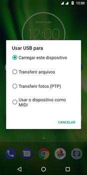 Transferir dados do telefone para o computador (Windows) - Motorola Moto G6 Play - Passo 4