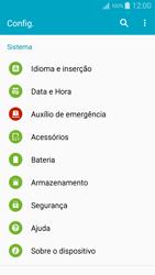 Como encontrar o número de IMEI do seu aparelho - Samsung Galaxy A5 - Passo 3