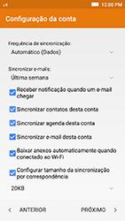 Como configurar seu celular para receber e enviar e-mails - Lenovo Vibe K5 - Passo 10