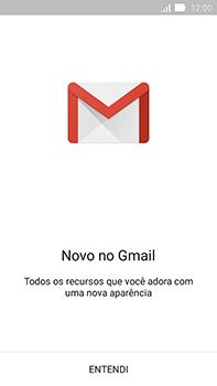 Como configurar seu celular para receber e enviar e-mails - Asus ZenFone Go - Passo 5