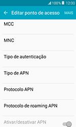Como configurar a internet do seu aparelho (APN) - Samsung Galaxy J1 - Passo 11