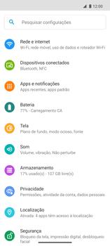 Como ativar e desativar o roaming de dados - Motorola Edge - Passo 3