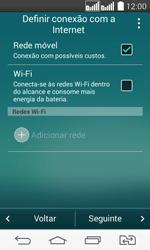 Como ativar seu aparelho - LG G2 Lite - Passo 5