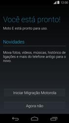 Como ativar seu aparelho - Motorola Moto E (1ª Geração) - Passo 8