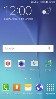 Como configurar a internet do seu aparelho (APN) - Samsung Galaxy J7 - Passo 1