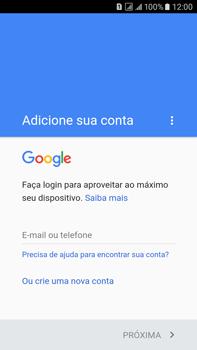 Como configurar seu celular para receber e enviar e-mails - Samsung Galaxy On 7 - Passo 9