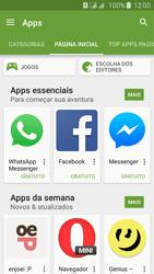 Como baixar aplicativos - Samsung Galaxy J5 - Passo 5