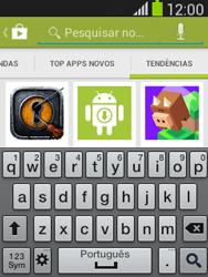 Como baixar aplicativos - Samsung Galaxy Pocket - Passo 14