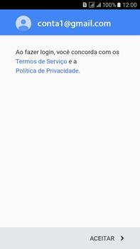 Como configurar seu celular para receber e enviar e-mails - Samsung Galaxy On 7 - Passo 13