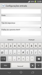 Como configurar seu celular para receber e enviar e-mails - Sony Xperia SP - Passo 10
