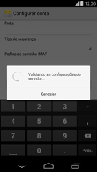 Como configurar seu celular para receber e enviar e-mails - Motorola Moto E (1ª Geração) - Passo 11