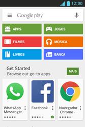 Como baixar aplicativos - LG Optimus L5 - Passo 4
