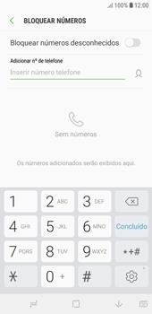Como bloquear chamadas de um número específico - Samsung Galaxy J4 Core - Passo 7