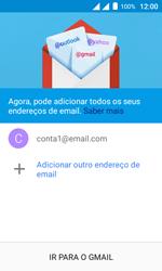 Como configurar seu celular para receber e enviar e-mails - Alcatel Pixi 4 - Passo 23
