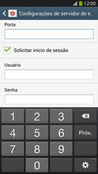 Como configurar seu celular para receber e enviar e-mails - Samsung Galaxy S IV - Passo 14