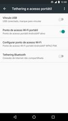 Como usar seu aparelho como um roteador de rede Wi-Fi - LG Google Nexus 5X - Passo 8