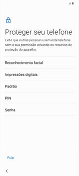 Como ativar seu aparelho - Samsung Galaxy S20 Plus 5G - Passo 12