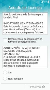 Como configurar pela primeira vez - Samsung Galaxy Note - Passo 5