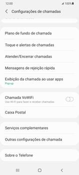 O celular não recebe chamadas - Samsung Galaxy S21 5G - Passo 16