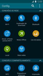 Como ativar e desativar uma rede de dados - Samsung Galaxy S5 - Passo 3