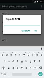 Como configurar a internet do seu aparelho (APN) - Motorola Moto C Plus - Passo 13