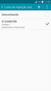 Como bloquear chamadas de um número específico - Samsung Galaxy Note - Passo 14