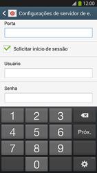Como configurar seu celular para receber e enviar e-mails - Samsung Galaxy S IV - Passo 13