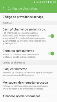 Como bloquear chamadas de um número específico - Samsung Galaxy On 7 - Passo 6
