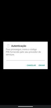Como conectar à internet - Motorola Moto G8 Power - Passo 19