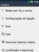 Como configurar a internet do seu aparelho (APN) - Motorola Master - Passo 3