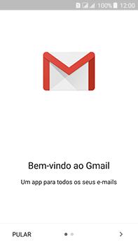 Como configurar seu celular para receber e enviar e-mails - Samsung Galaxy J7 - Passo 6