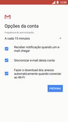 Como configurar seu celular para receber e enviar e-mails - Motorola Moto C Plus - Passo 19