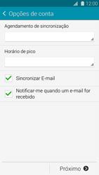 Como configurar seu celular para receber e enviar e-mails - Samsung Galaxy S5 - Passo 15