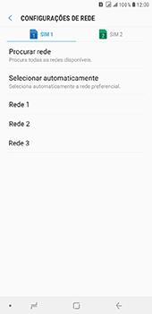 Como selecionar o tipo de rede adequada - Samsung Galaxy J8 - Passo 10